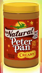 Peter Pan Peanut Butter... perfect for this post!